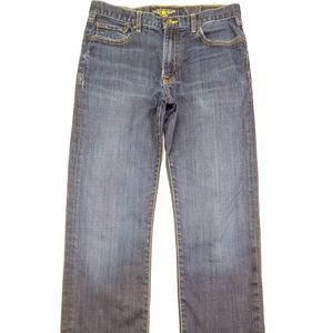 Lucky Brand 363 Vintage Straight Jeans Mens Blue